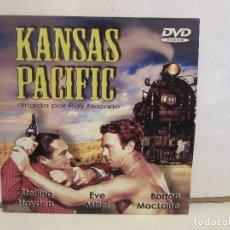 Cine: KANSAS PACIFIC - RAY NAZARRO - STERLING HAYDEN - DVD - CASTELLANO - NM+/VG+. Lote 180331088