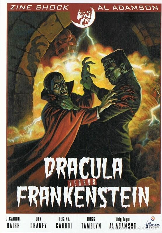 DRACULA VERSUS FRANKENSTEIN (Cine - Películas - DVD)