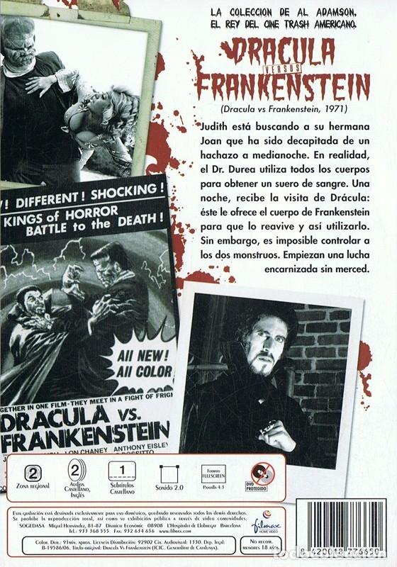 Cine: DRACULA VERSUS FRANKENSTEIN - Foto 2 - 180396361