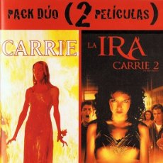 Cine: CARRIE & CARRIE 2 LA IRA ( 2 DVD). Lote 180397616