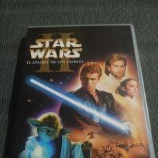 Cine: STAR WARS II EL ATAQUE DE LOS CLONES (2 DVD). Lote 180420328