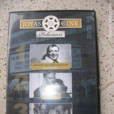 Cine: DVD JOYAS DEL CINE POLICIACO INCLUYE 3 PELICULAS. Lote 180435965
