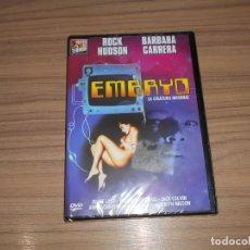 Cine: EMBRYO LA CRIATURA INFERNAL DVD ROCK HUDSON TERROR NUEVA PRECINTADA. Lote 180439283