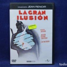 Cine: LA GRAN ILUSION - DVD. Lote 180452950