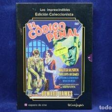 Cine: EL CODIGO PENAL -DVD . Lote 180453411