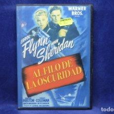 Cine: AL FILO DE LA OSCURIDAD - DVD. Lote 180453602