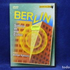 Cine: BERLIN - SINFONIA DE UNA CIUDAD - DVD. Lote 180453841