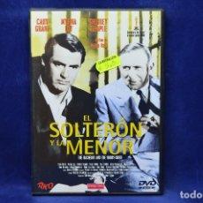 Cine: EL SOLTERON Y LA MENOR - DVD. Lote 180454046