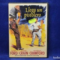 Cine: LLEGA UN PISTOLERO - DVD. Lote 180454318