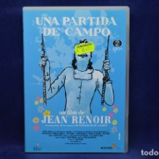 Cine: UNA PARTIDA DE CAMPO - DVD. Lote 180454620
