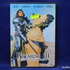 Cine: RICARDO III - DVD. Lote 180454728