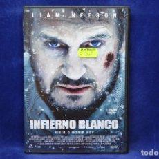 Cine: INFIERNO BLANCO - DVD. Lote 180454890