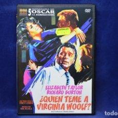 Cine: QUIEN TEME A VIRGINIA WOOLF - DVD. Lote 180455145