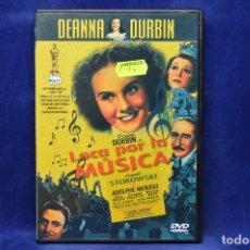 Cine: LOCA POR LA MUSICA - DVD. Lote 180455205