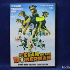 Cine: EL CLAN DE LOS DOBERMAN - DVD. Lote 180455493