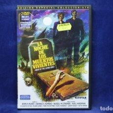 Cine: LA NOCHE DE LOS MUERTOS VIVIENTES - DVD. Lote 180455878