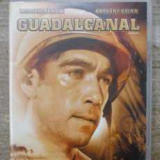 Cine: DVD - GUADALCANAL - PEDIDO MINIMO 4 PELICULAS O PEDIDO MINIMO DE 10€. Lote 180487118