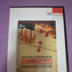 Cine: DVD. FARENHEIT 9/11. MICHAEL MOORE.. Lote 180490443