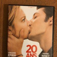 Cine: - DVD - 20 ANS D'ECART. DAVID MORREAU. VIRGINIE EFIRA, PIERRE NINEY.. Lote 180516162