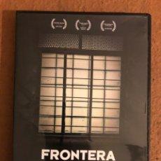 Cine: - DVD - FRONTERA (BORDER), CUANDO EL OTRO PUEDES SER TÚ. MANUEL PÉREZ. AIDA OSET, ALÍCIA GONZÁLEZ,... Lote 180516181