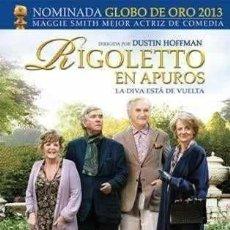 Cine: RIGOLETTO EN APUROS DVD. Lote 180818596