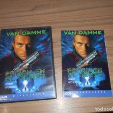 Cine: POLICIA EN EL TIEMPO TIMECOP DVD VAN DAMME COMO NUEVA. Lote 195448273