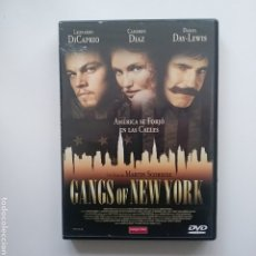Cine: GANGS OF NEW WORKS. 2 DVD. SCORESESE. Lote 180862330