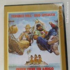 Cine: BUD SPENCER TERENCE HILL - QUIEN TIENE UN AMIGO... TIENE UN TESORO - DVD PRECINTADO. . Lote 180868365