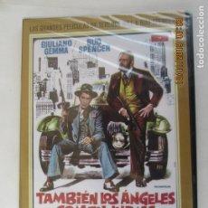 Cine: BUD SPENCER TERENCE HILL - TAMBIÉN LOS ÁNGELES COMEN JUDÍAS - DVD PRECINTADO. . Lote 180868496