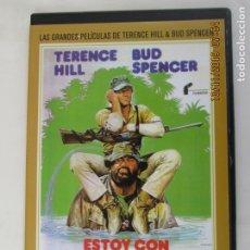 Cine: BUD SPENCER TERENCE HILL - ESTOY CON LOS HIPOPÓTAMOS - DVD.. Lote 180868627