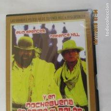 Cine: BUD SPENCER TERENCE HILL - Y EN NOCHEBUENA SE ARMÓ EL BELÉN - DVD PRECINTADO. . Lote 180869760