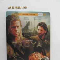 Cine: TROYA - BRAD PITT - ERIC BANA - ORLANDO BLOOM - DOBLE DVD - CAJA METÁLICA EDICIÓN LIMITADA -WB. . Lote 180872923