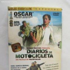 Cine: DIARIOS DE MOTOCICLETA 7 ROBERT REDFORD - 2 DVD - EDICIÓN ESPECIAL. . Lote 180874520