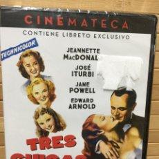 Cine: TRES CHICAS ATREVIDAS DVD - PRECINTADO -. Lote 180953990