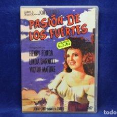 Cine: PASION DE LOS FUERTES - DVD. Lote 180959817