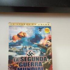 Cine: COLECCIÓN DVD II GUERRA MUNDIAL EN COLOR (5 DVD, COMPLETA). Lote 180977567