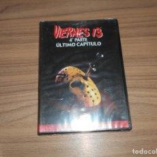 Cine: VIERNES 13 PARTE 4 EL ULTIMO CAPITULO DVD TERROR COMO NUEVA. Lote 228640485