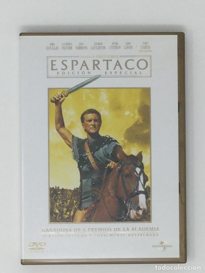 Cine: ESPARTACO EDICIÓN ESPECIAL 2 DVD - Foto 3 - 181070995