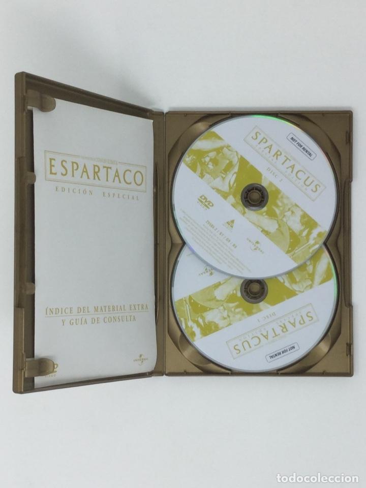 Cine: ESPARTACO EDICIÓN ESPECIAL 2 DVD - Foto 5 - 181070995