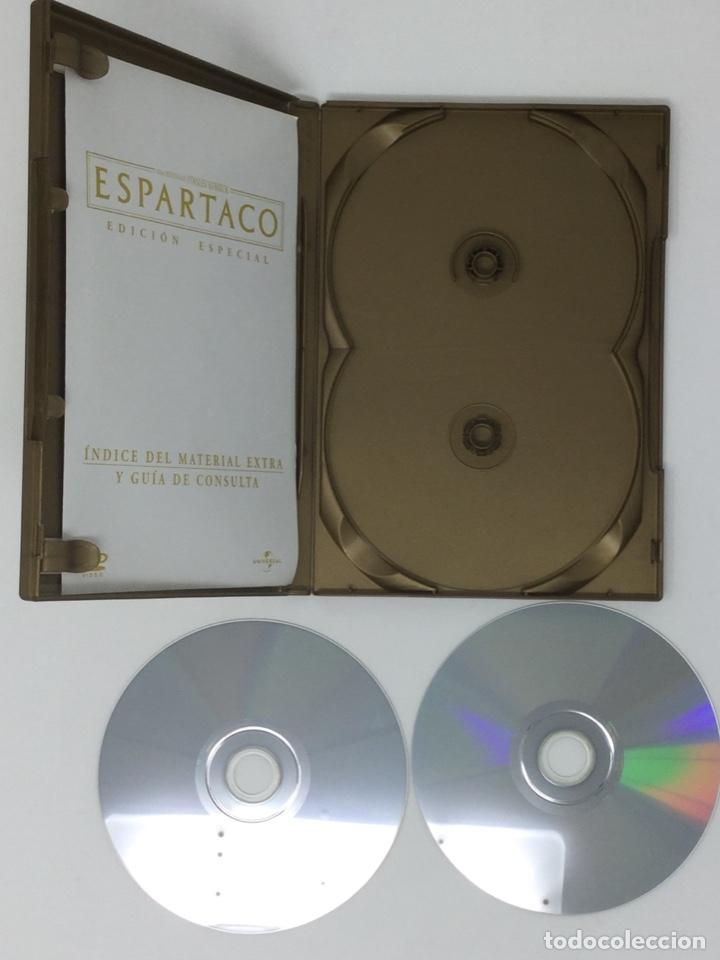 Cine: ESPARTACO EDICIÓN ESPECIAL 2 DVD - Foto 6 - 181070995