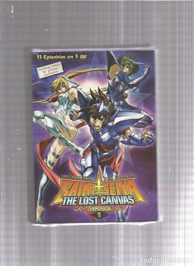 CABALLEROS ZODIACO DVD LOST CANVAS TEMPORADA 1 (Cine - Películas - DVD)