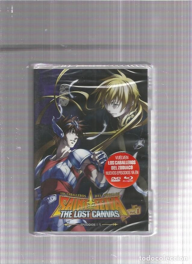 Cine: CABALLEROS ZODIACO DVD LOST CANVAS VOL 1 - Foto 1 - 181077962
