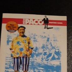 Cine: 1 DVD DE **. EL TURISMO ES UN GRAN INVENTO P. MARTINEZ SORIA . . ** AÑO 2008. Lote 181129906