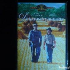 Cine: DE RATONES Y HOMBRES - DVD NUEVO PRECINTADO. Lote 181222358