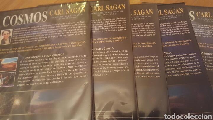 Cine: COSMOS Carl Sagan lote de 12 DVD - Foto 3 - 181405945