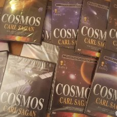 Cine: COSMOS CARL SAGAN LOTE DE 12 DVD. Lote 181405945