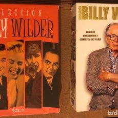 Cine: COLECCIÓN BILLY WILDER VOL. 1 Y 2. CON 6 Y 5 DVDS RESPECTIVAMENTE. 11 PELÍCULAS.. Lote 181429898