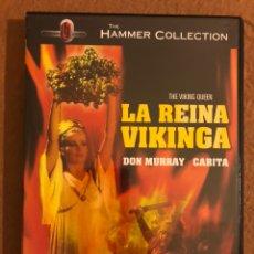 Cine: - DVD - LA REINA VIKINGA (THE VIKING QUEEN). DON CHAFFEY. DON MURRAY, CARITA,... Lote 181431547