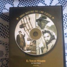 Cine: OBRAS MAESTRAS DEL CINE CLÁSICO. EL TERCER HOMBRE/ JUAN NADIE. Lote 181439623