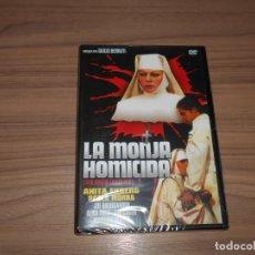Cinema: LA MONJA HOMICIDA DVD ANITA EKBERG ALIDA VALLI CINE EROTICO NUEVA PRECINTADA. Lote 221870640